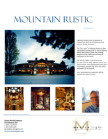 MerlinLight® Mountain Rustic